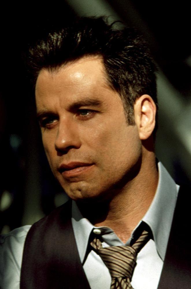 John Travolta for the hero or villain  Face/off, broken