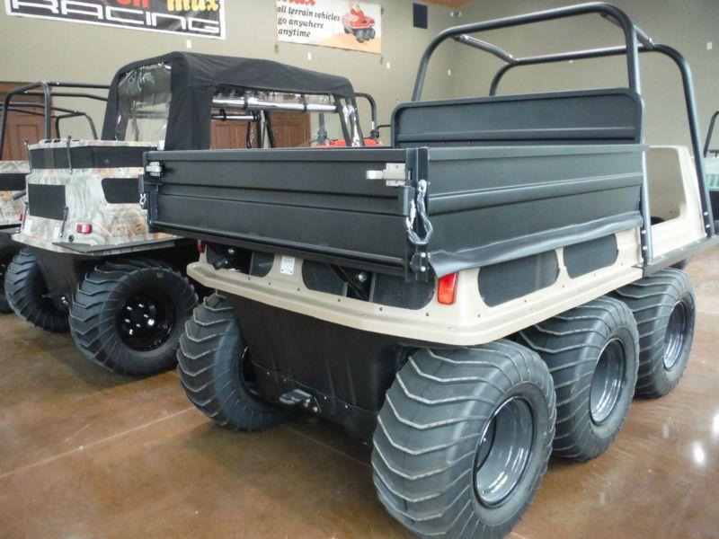 2016 MAX W/ DUMP BED 29 EFI 6X6 SIX WHEELER AMPHIBIOUS ATV 6