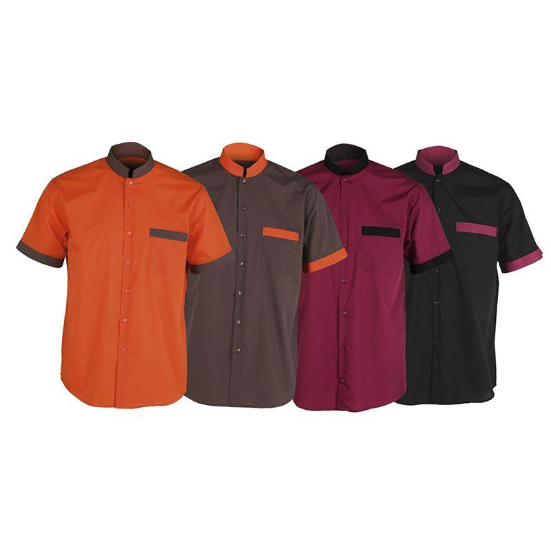 ef32c9b74 2662 Camisa chico manga corta disponible en naranja