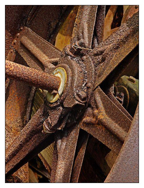 Roda oxidada