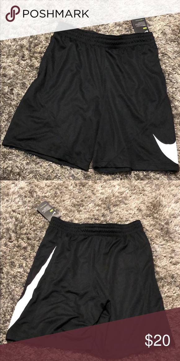 NEW NIKE Girl/'s Dri-fit Training Shorts Black Sizes Medium /& Large NWT