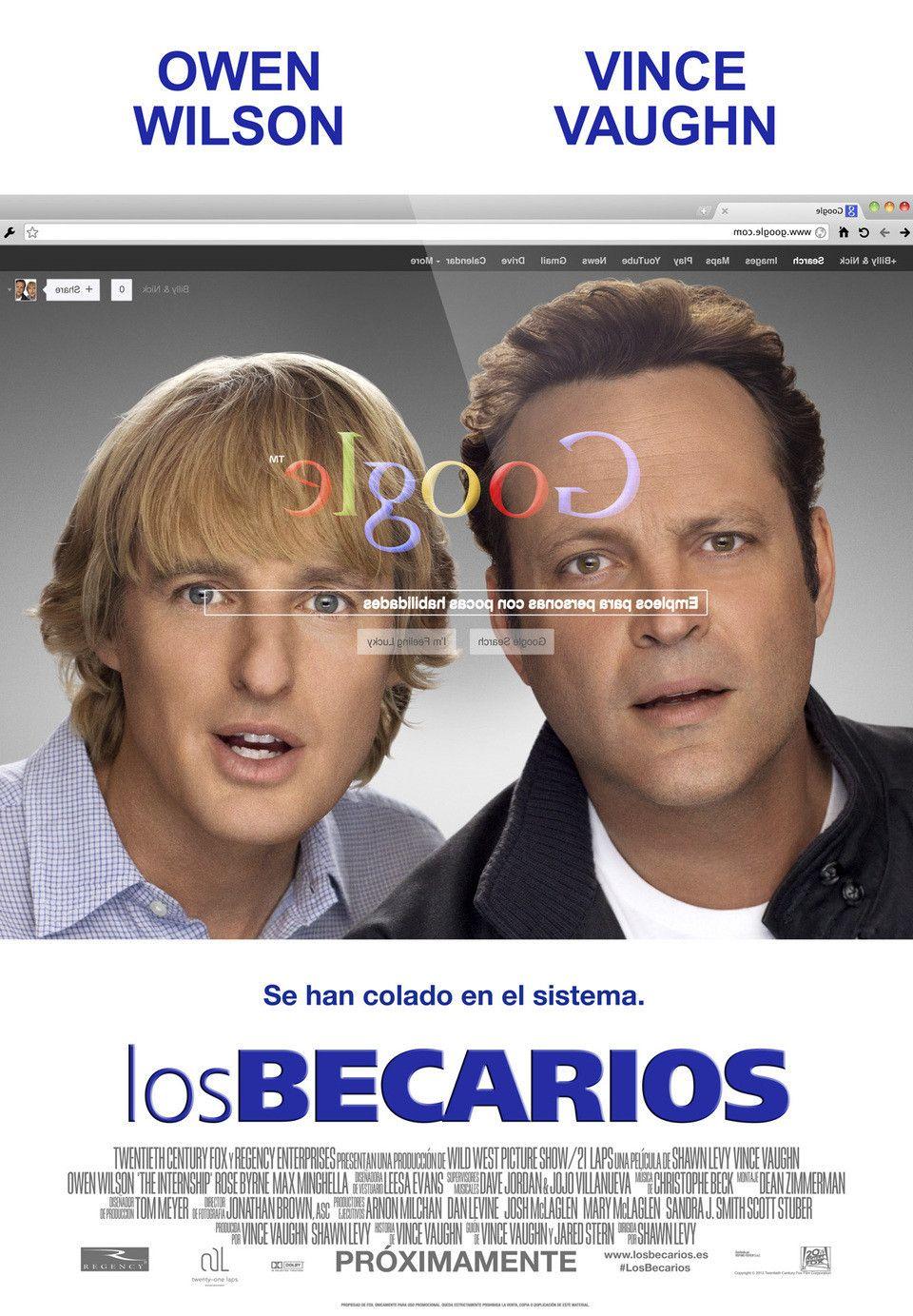 Ver Los Becarios Online Gratis 2013 Hd Película Completa Español Free Movies Online Internship Full Movies Online Free