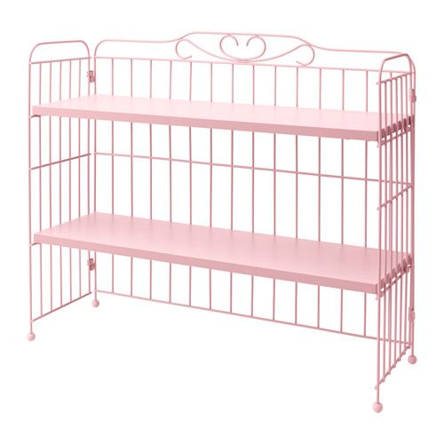 Ikea FalkhÖjden Add On Unit For Desk Pink You Have Plenty Of Room To Your Books Binders Or Decorative Objects The Shelves