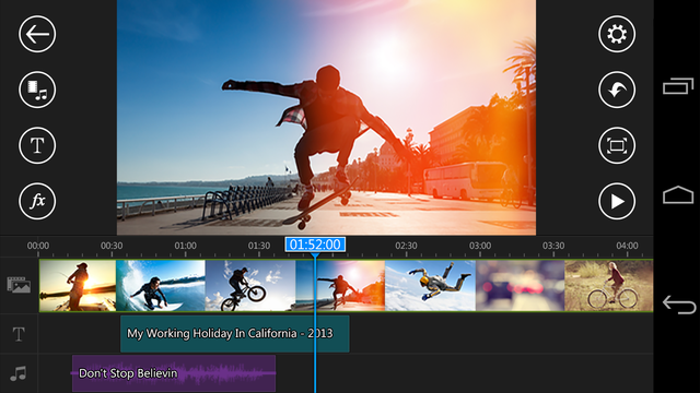 PowerDirector Video Editor v4 11 2 Cracked APK Download   Android