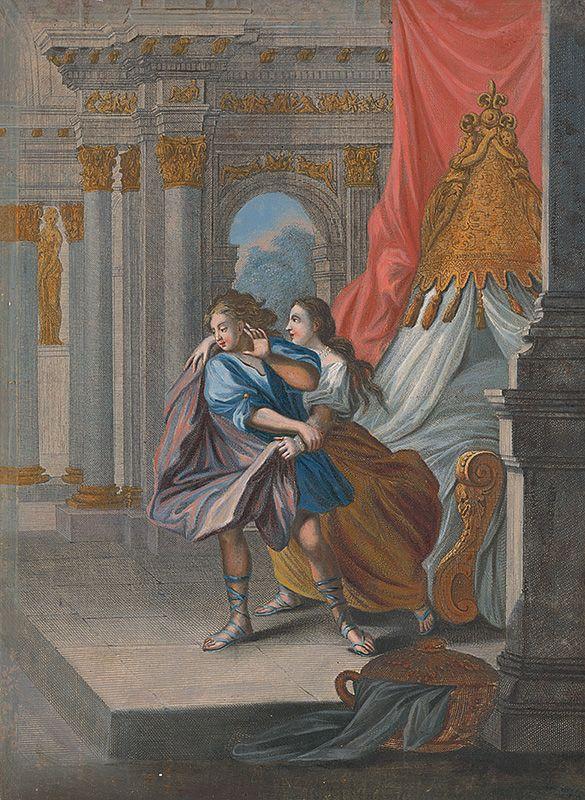 Caspar Luyken - Jozef a Putifarova žena