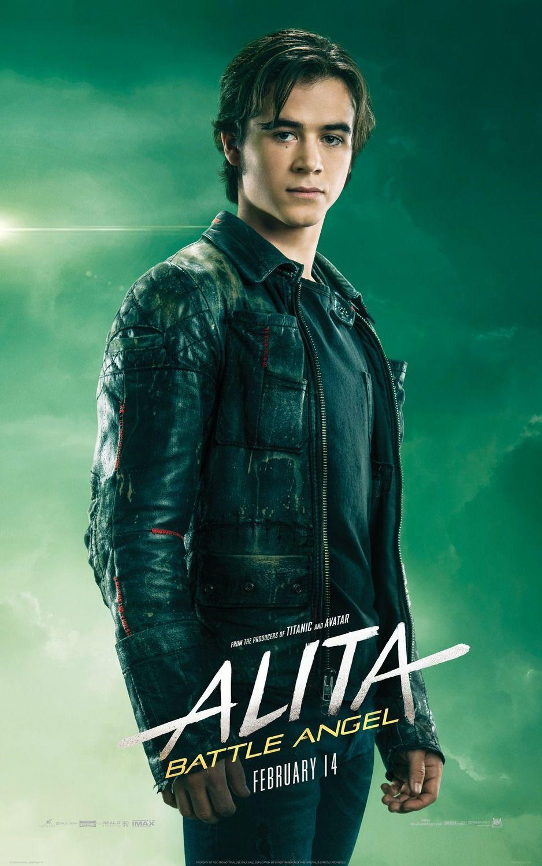 Alita Battle Angel Keean Johnson As Hugo Angel Movie Keean Johnson Alita Movie