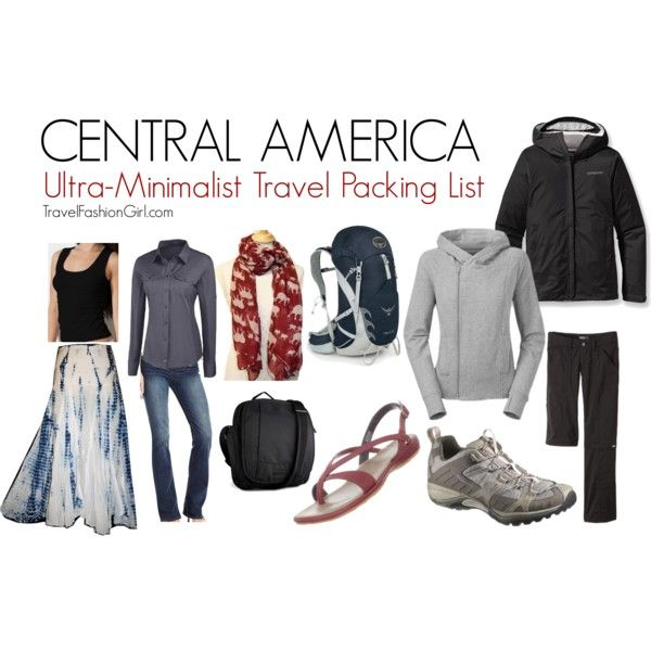 Backpacking In Central America: Central America Ultra-Minimalist Travel Packing List