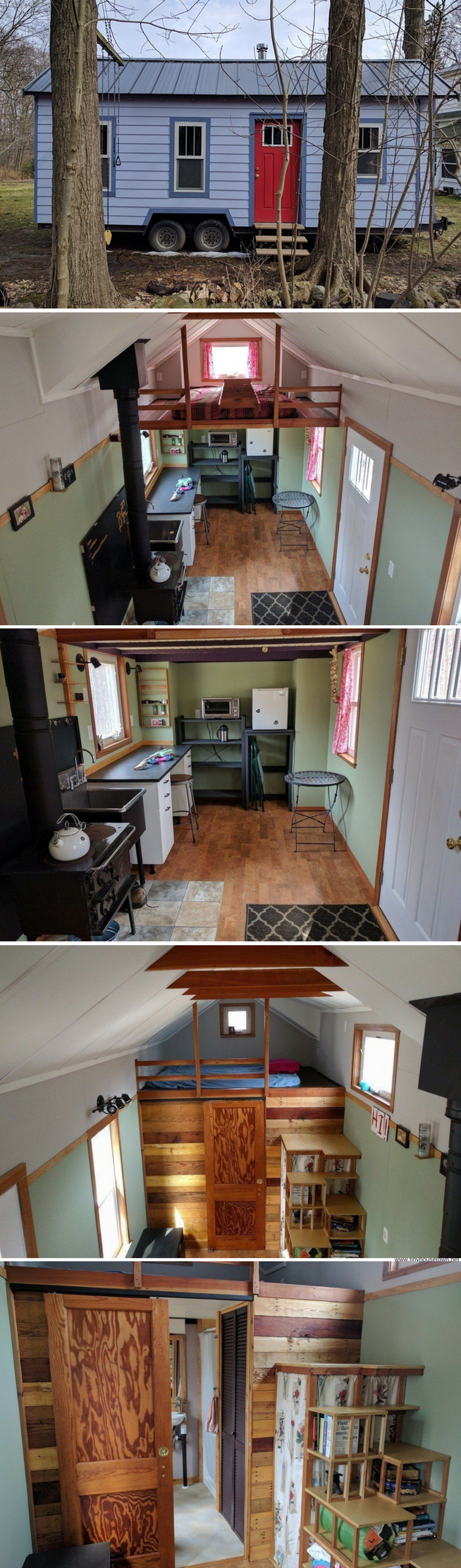 The Working Class Tiny House 180 Sq Ft Case Mobili