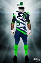 Seattle Seahawks custom jersey!