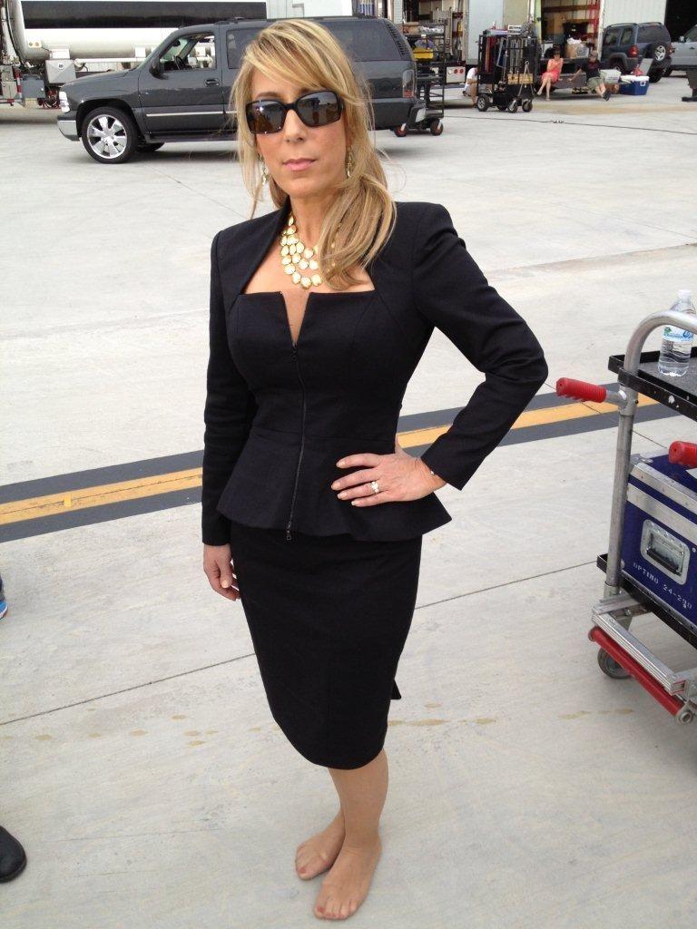 Lori greiner black dress