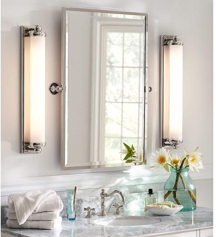 Kensington Pivot Rectangular Mirror for the Master Bathroom