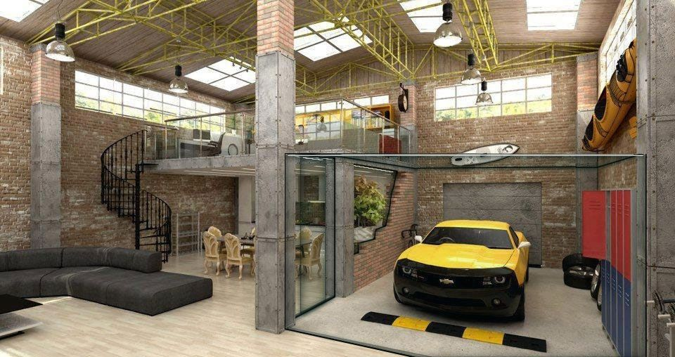 Non Suicidal Garage Living Room 960x508 Rooms And Lofts