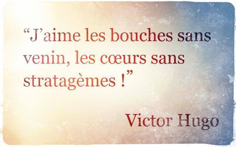 Victor Hugo La Gentillesse Et La Simplicité Du Cœur Comme