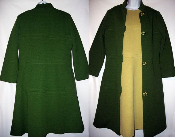 Vintage Nardis of Dallas Green Dress and by GrandmothersOdyssey