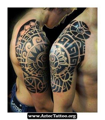 Aztec Warrior Tattoo Tatuaje Maori Tatuajes Tribales Maori