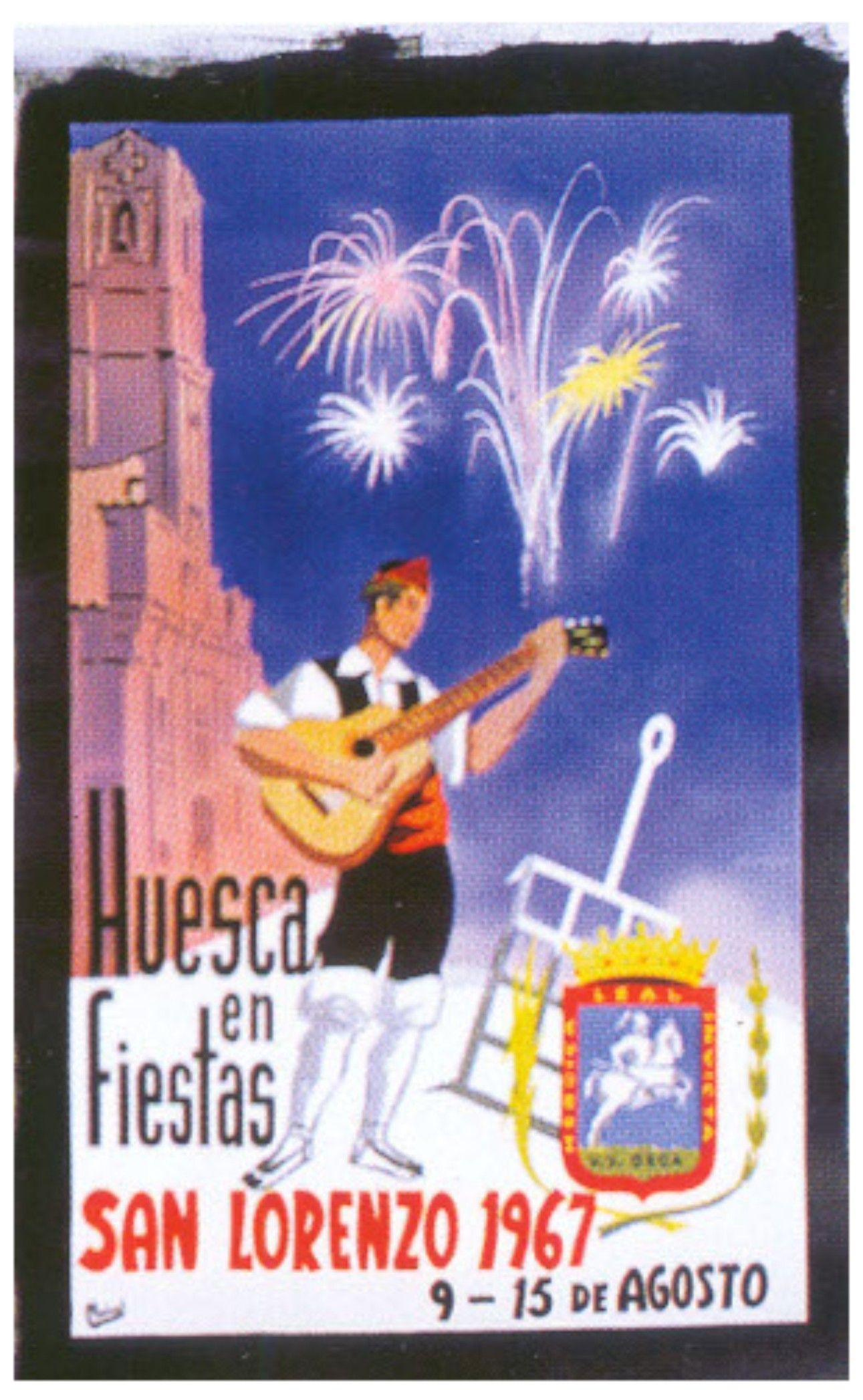 Cartel Fiestas de San Lorenzo 1967