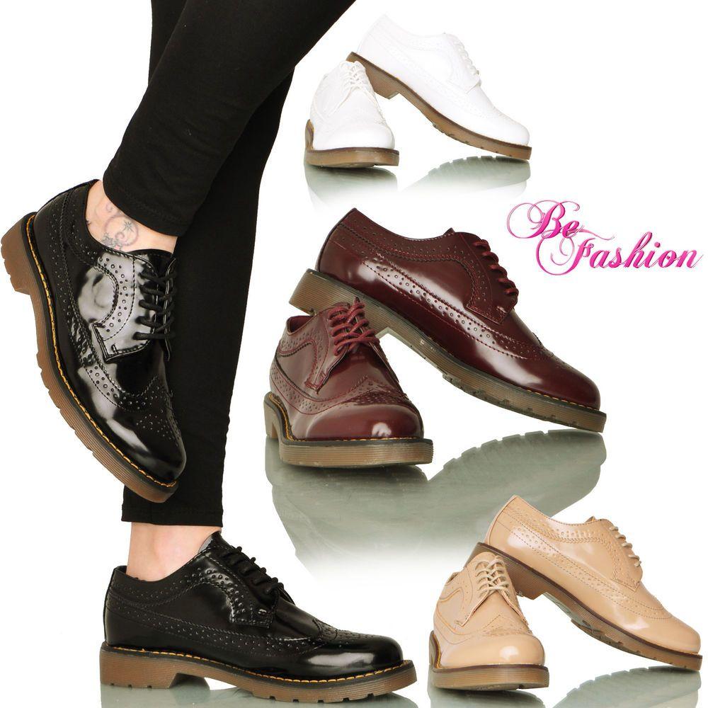 scarpe donna mocassini francesine parigine lacci basse eco pelle lucida  DSY220 7be54ca133f
