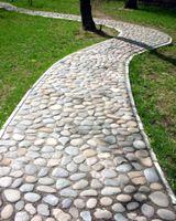 28 matériaux galets ou utilisation galet allée | Jardin maçonnerie ...