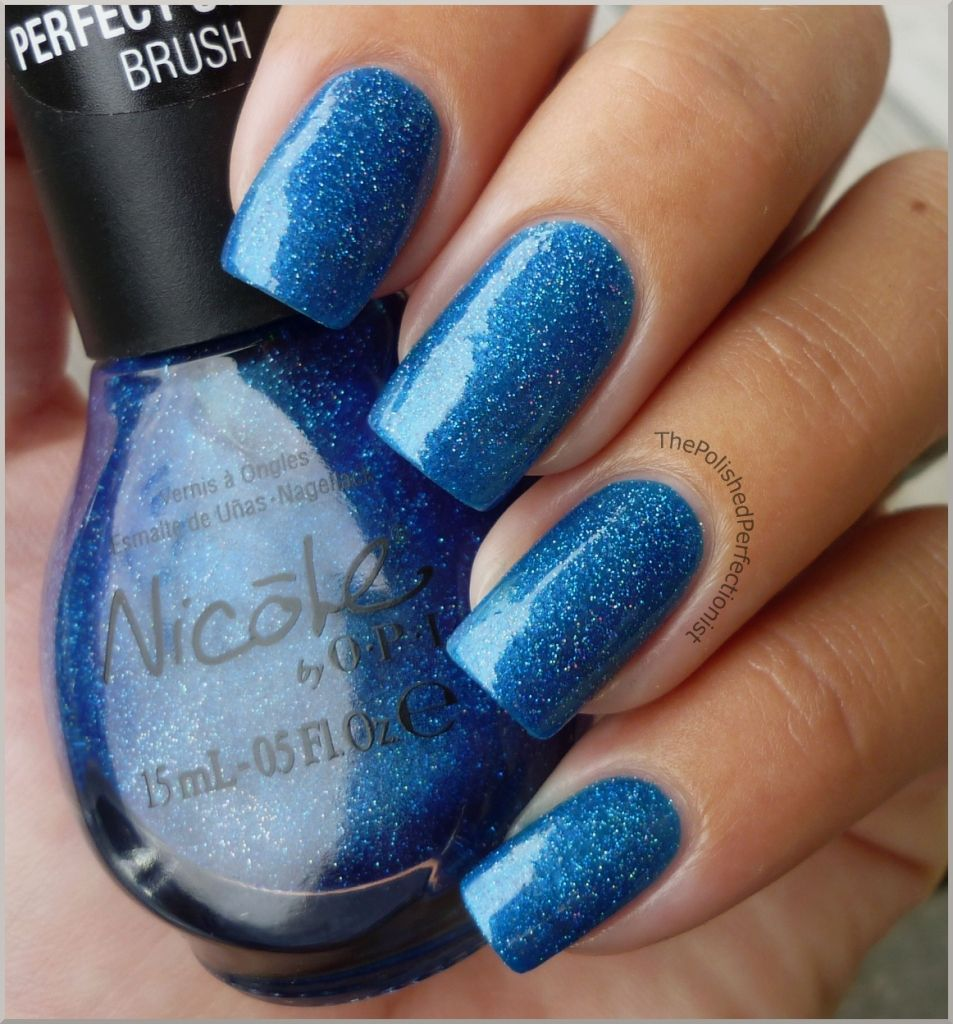 Nicole by OPI - Me + Blue | Tips & Toes! | Pinterest | OPI, Opi ...