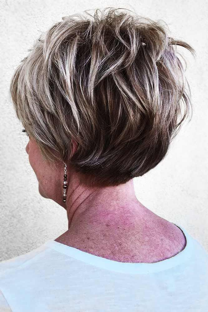 95 Incredibly Beautiful Short Haircuts For Women Over 60 Lovehairstyles Layered Haircuts For Women Short Layered Haircuts Thick Hair Styles