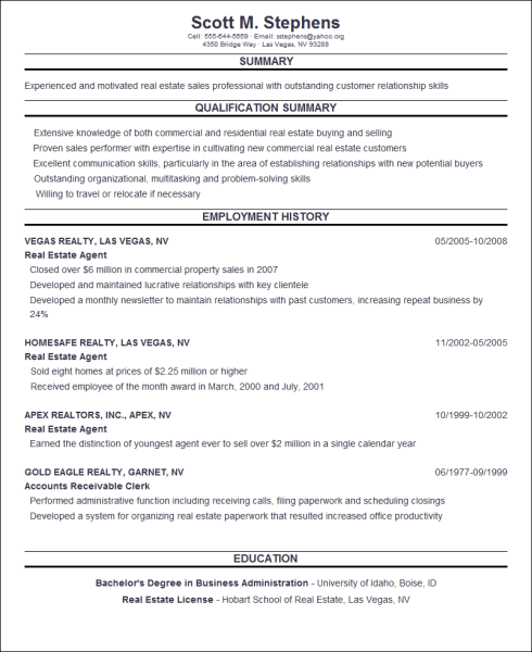 free online resumes for employers