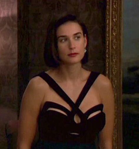 An Indecent Proposal Demi Moore The Black Dress Film Tv