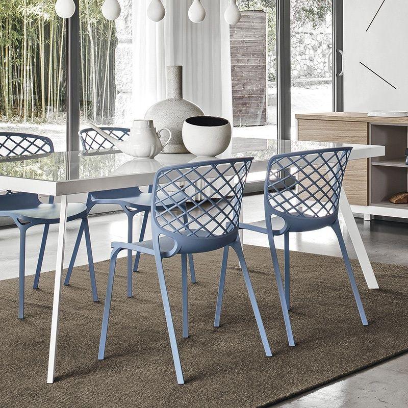 Chaise Empilable Design En Nylon Gamera Calligaris 2 Chaise Design Chaise Fauteuil Mobilier De Salon