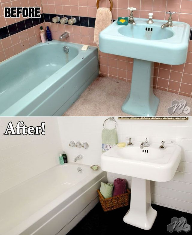 Don T Replace Restore Your Bathroom With Miracle Method