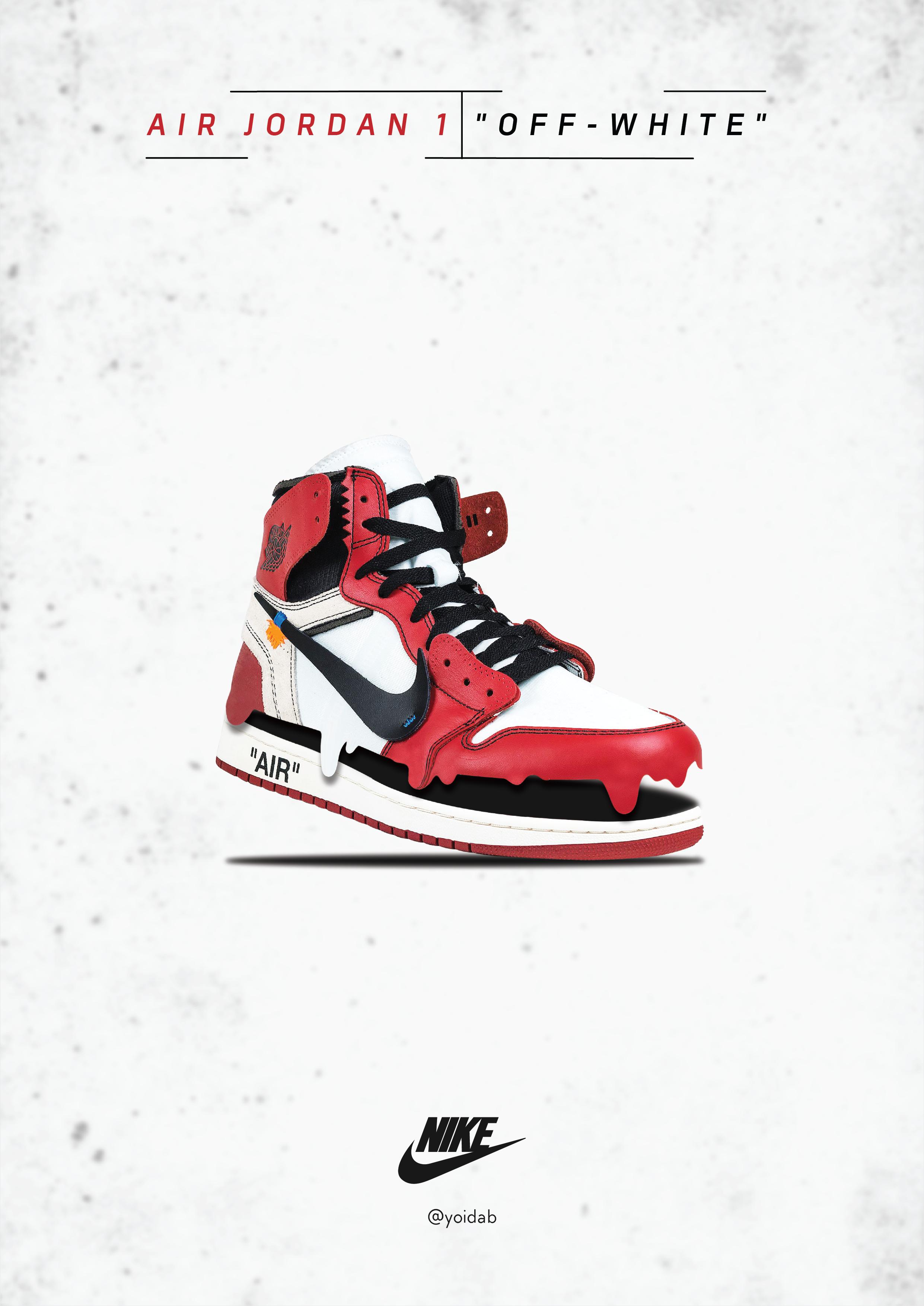 Nike Air Jordan Poster Design