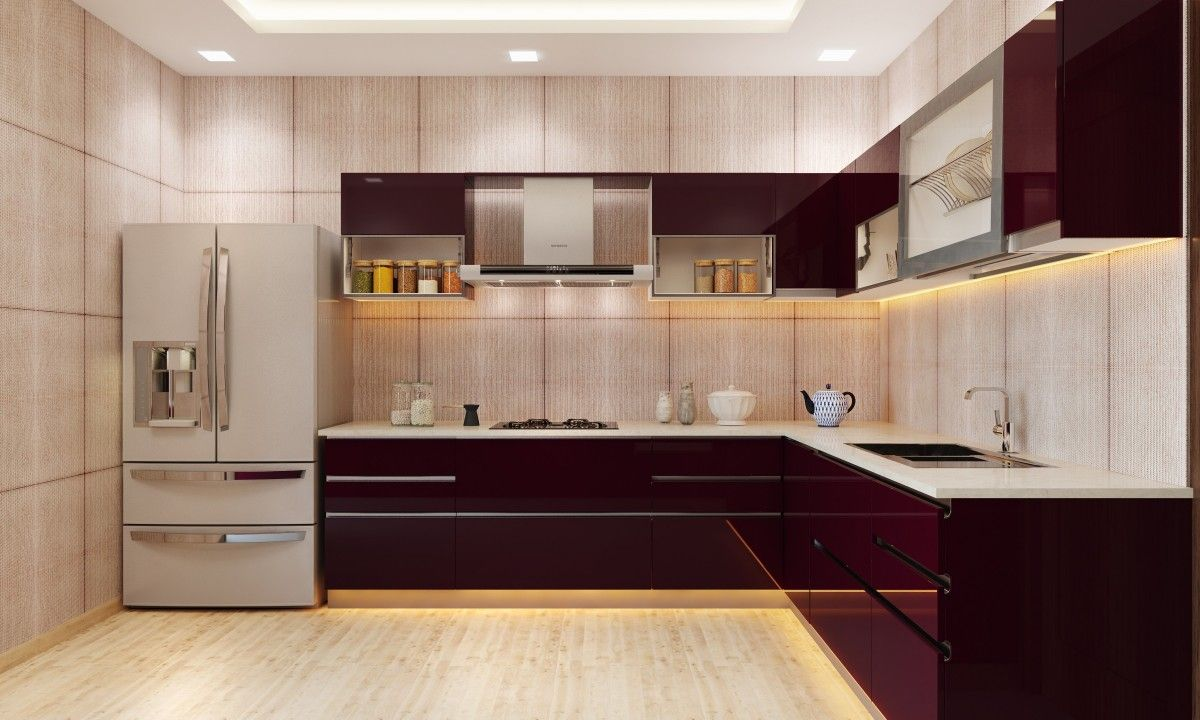 Modular Kitchen Design Online India Kitchen Kitchen