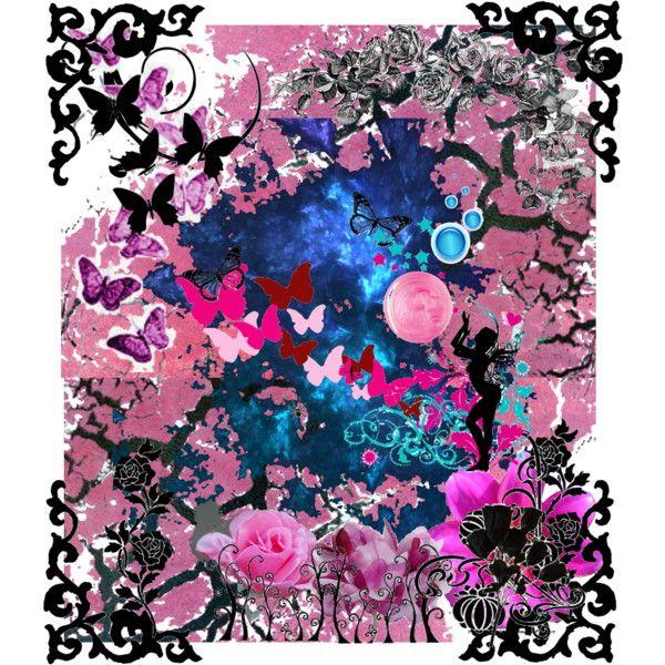 """Fantasy in Pink"" by kathughett on Polyvore"