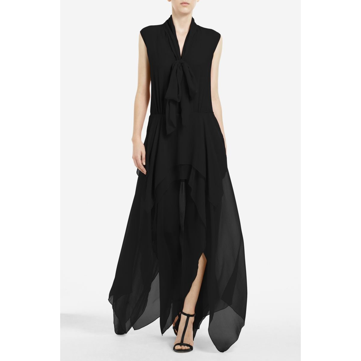 SALE. Basha Tie-Neck Evening Gown at BCBG was $398.00 now $278.60 ...