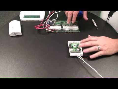 How To Wire A Motion Detector To An Alarm Control Panel Youtube Motion Detector Detector Motion
