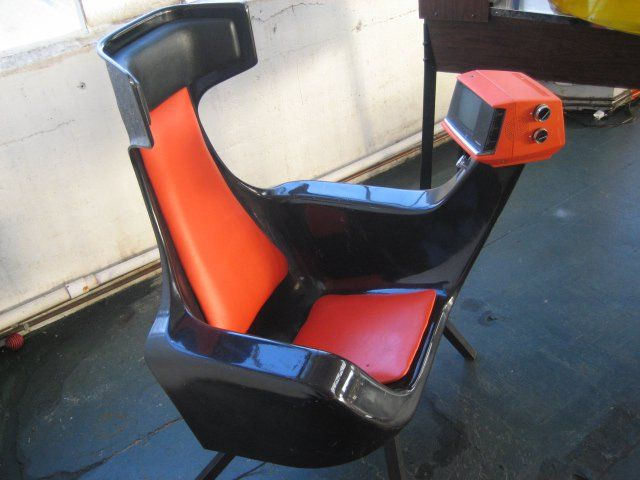 Strange Ant Chair Ca 1960 Greyhound Busstation With Working Tv Caraccident5 Cool Chair Designs And Ideas Caraccident5Info