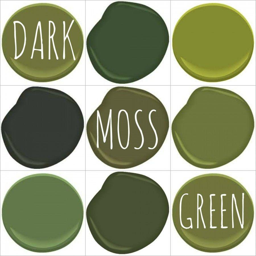 Dark moss olive avocado green all benjamin moore for Benjamin moore dark green