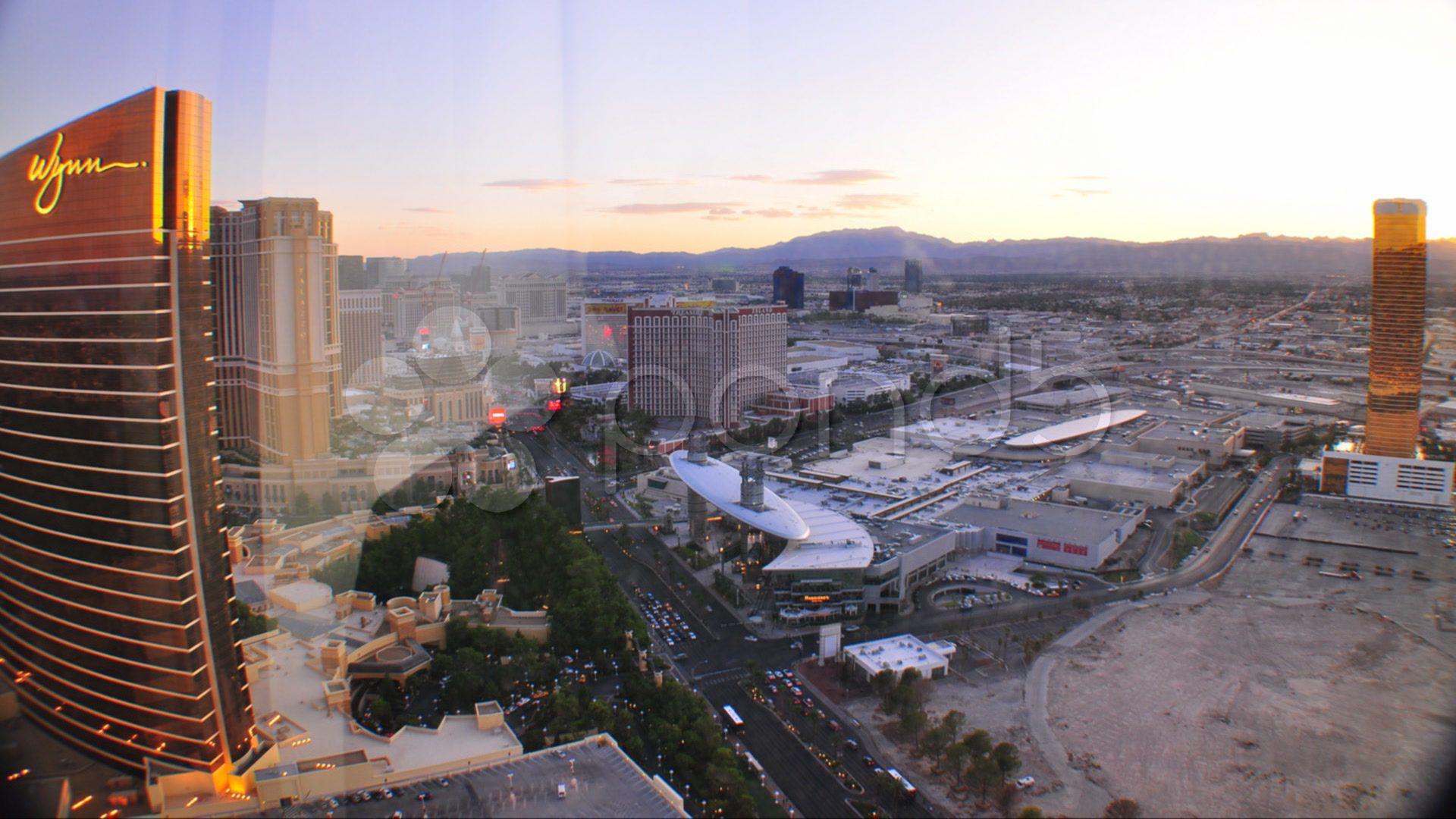 Las Vegas Strip Overnight Timelapse 1 Stock Footage Strip Vegas