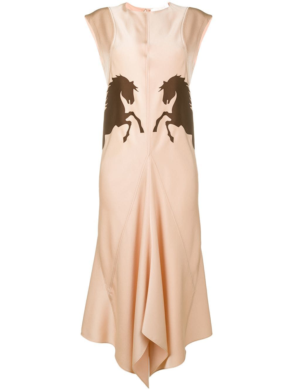 1c98e3d6cf Chloé Horse dress - Pink in 2019 | Products | Dresses, Pink dress ...