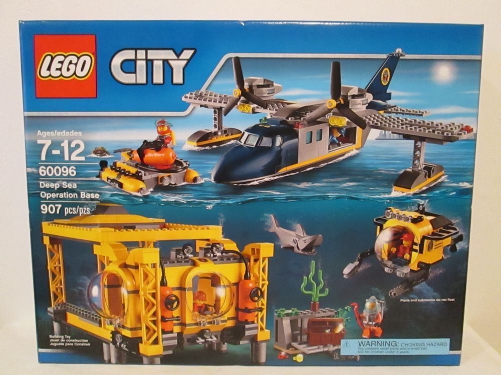 Lego 60096 City Deep Sea Operation Base BRAND NEW