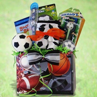 Soccer Gift Basket Kids Gift Baskets Soccer Gifts Unique Gift Baskets