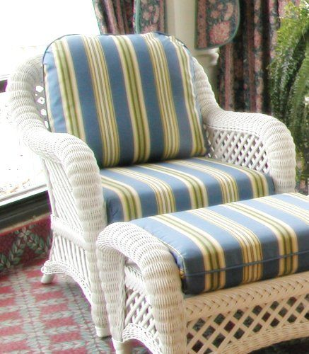Wicker Chair Cushions 189 00 Replace Your Wicker Chair Cushions Using Our Delightful Array Of Wicker Furniture Cushions Wicker Chair Cushions Wicker Chair