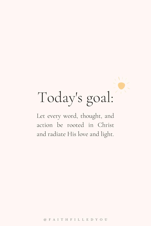 Encouraging Faith Quote | Daily Faith Goal