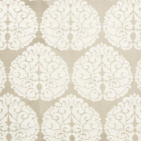 04383694a91 Buy John Lewis Octavia Parchment Fabric Online at johnlewis.com ...