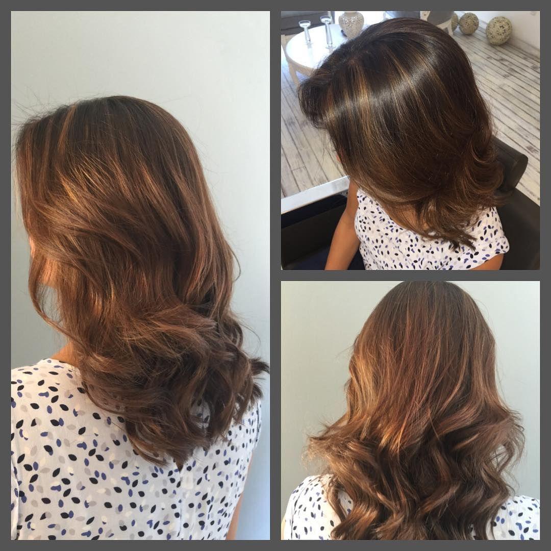 De Todo Un Poco — CARLOS HERRERA#salon #goldwell #color #cabello...