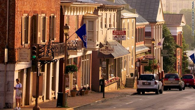 one of my favorite little cities on the east coast: Lexington, VA