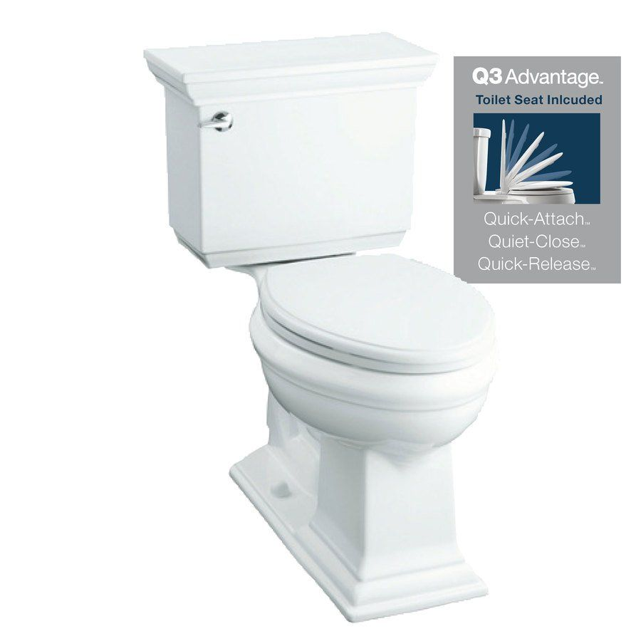 Phenomenal Kohler Memoirs White Elongated 2 Piece Toilet Lowes Beatyapartments Chair Design Images Beatyapartmentscom