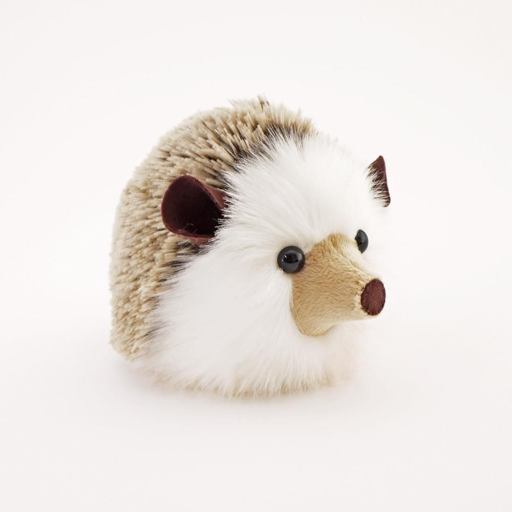 Sebastian The Brown Hedgehog Stuffed Animal Plush Toy Stuffed