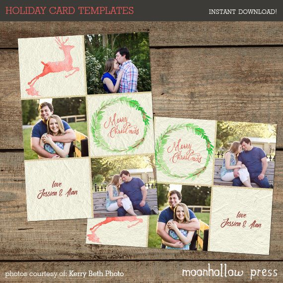 christmas card template photoshop christmas card christmas photo