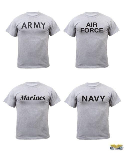 d49917bd Military Physical Training Gray T-Shirt | Marine stuff | T shirt ...