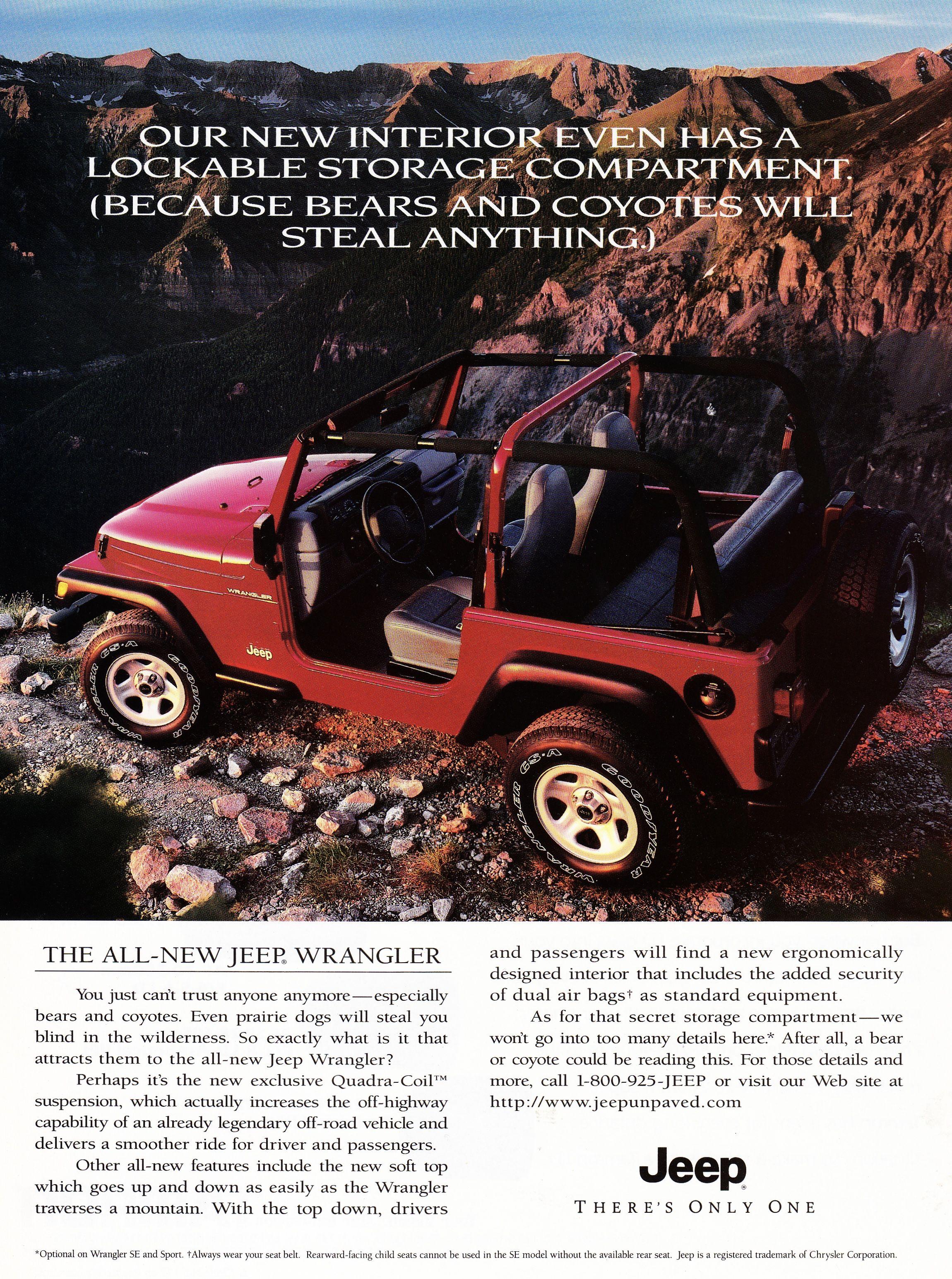 1997 Jeep Wrangler 1997 Jeep Wrangler Jeep Wrangler