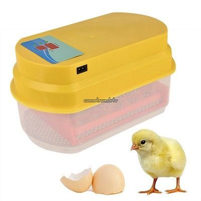USA Automatic 15 Egg Turning Incubator Chicken Hatcher Temperature Control CLSV